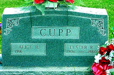 CUPP, LESTER ROBERT - Jefferson County, Iowa | LESTER ROBERT CUPP