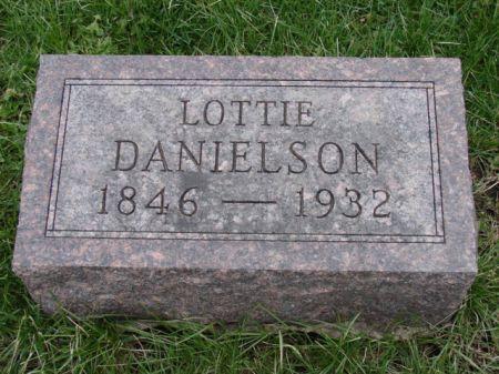 DANIELSON, CHARLOTTE 'LOTTIE' - Jefferson County, Iowa | CHARLOTTE 'LOTTIE' DANIELSON