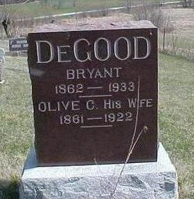 DE GOOD, BRYANT BOYD - Jefferson County, Iowa | BRYANT BOYD DE GOOD