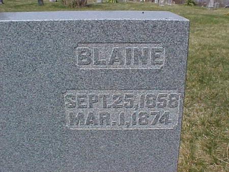 DE GOOD, BLAINE - Jefferson County, Iowa | BLAINE DE GOOD