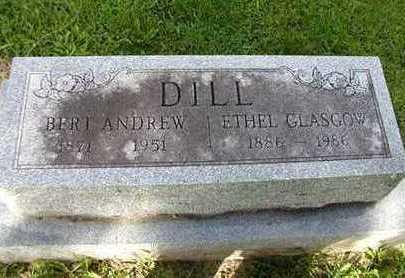 DILL, ETHEL - Jefferson County, Iowa | ETHEL DILL