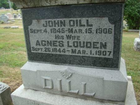 DILL, AGNES - Jefferson County, Iowa | AGNES DILL