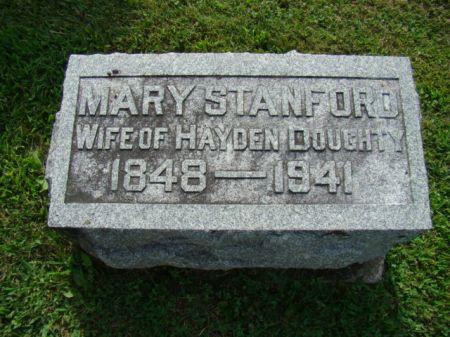 DOUGHTY, MARY OLIVE - Jefferson County, Iowa   MARY OLIVE DOUGHTY