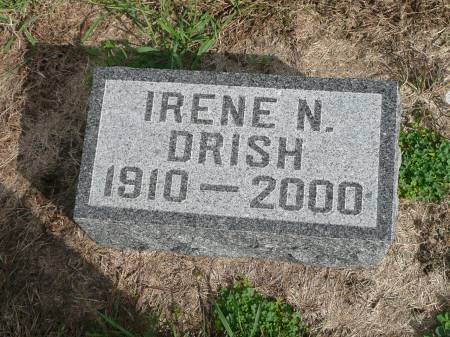 DRISH, IRENE N - Jefferson County, Iowa | IRENE N DRISH