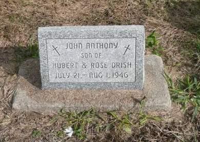 DRISH, JOHN ANTHONY - Jefferson County, Iowa   JOHN ANTHONY DRISH