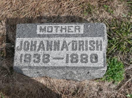 DRISH, JOHANNA - Jefferson County, Iowa   JOHANNA DRISH