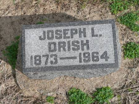 DRISH, JOSEPH L - Jefferson County, Iowa | JOSEPH L DRISH