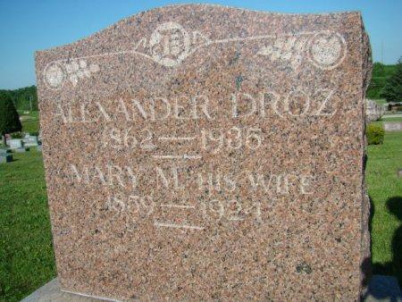 DROZ, MARY M. - Jefferson County, Iowa | MARY M. DROZ