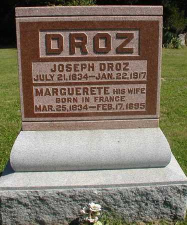 DROZ, MARGUERETE - Jefferson County, Iowa | MARGUERETE DROZ