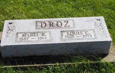 DROZ, LOUIS C. - Jefferson County, Iowa | LOUIS C. DROZ