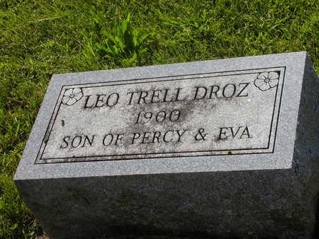 DROZ, LEO TRELL - Jefferson County, Iowa   LEO TRELL DROZ
