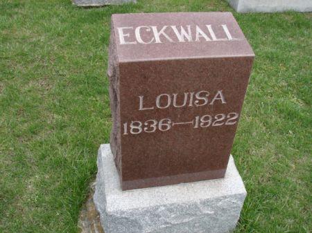 ECKWALL, LOUISA - Jefferson County, Iowa | LOUISA ECKWALL