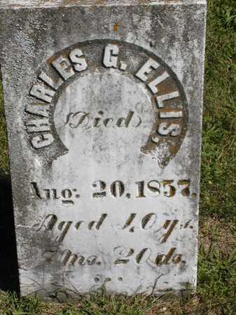 ELLIS, CHARLES G. - Jefferson County, Iowa | CHARLES G. ELLIS