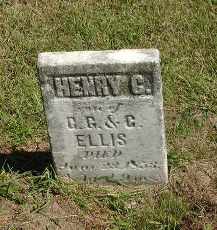 ELLIS, HENRY C. - Jefferson County, Iowa   HENRY C. ELLIS