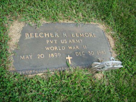 ELMORE, BEECHER R - Jefferson County, Iowa   BEECHER R ELMORE