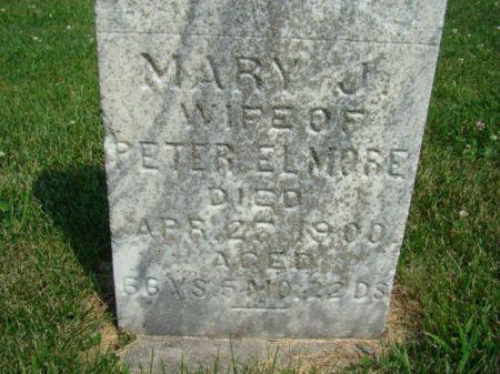 ELMORE, MARY J - Jefferson County, Iowa | MARY J ELMORE