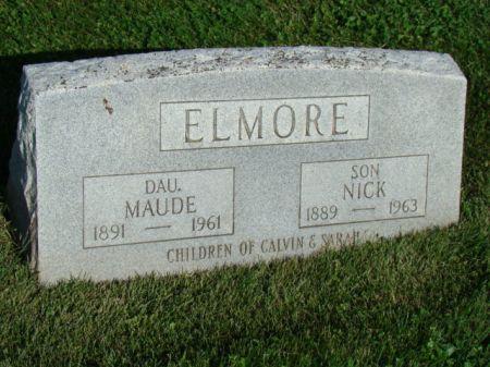 ELMORE, MAUDE - Jefferson County, Iowa | MAUDE ELMORE