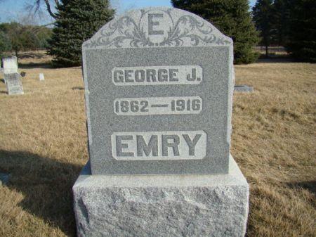 EMRY, GEORGE JULIAN - Jefferson County, Iowa   GEORGE JULIAN EMRY