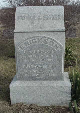 ERICKSON, E. M. - Jefferson County, Iowa | E. M. ERICKSON