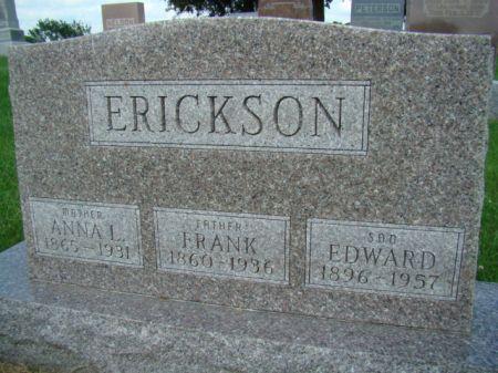 AIN ERICKSON, ANNA LOUISE - Jefferson County, Iowa   ANNA LOUISE AIN ERICKSON
