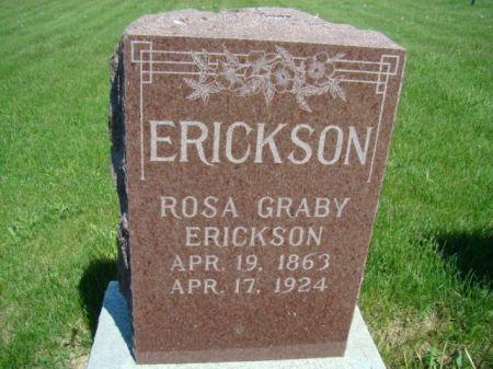 ERICKSON, ROSA - Jefferson County, Iowa | ROSA ERICKSON