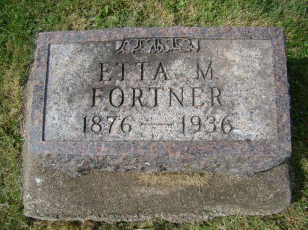 FORTNER, ETTA MAE - Jefferson County, Iowa   ETTA MAE FORTNER