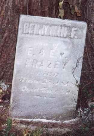 FRAZEY, BENJAMIN F - Jefferson County, Iowa   BENJAMIN F FRAZEY