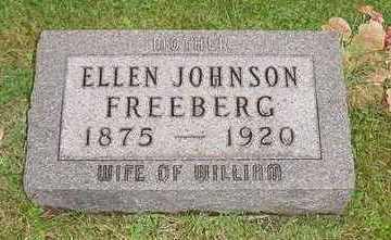 JOHNSON FREEBERG, ELLEN - Jefferson County, Iowa | ELLEN JOHNSON FREEBERG