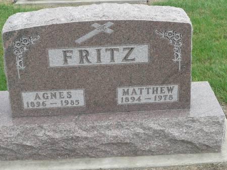 FRITZ, MATTHEW - Jefferson County, Iowa | MATTHEW FRITZ