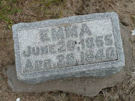 FRITZ, EMMA - Jefferson County, Iowa | EMMA FRITZ