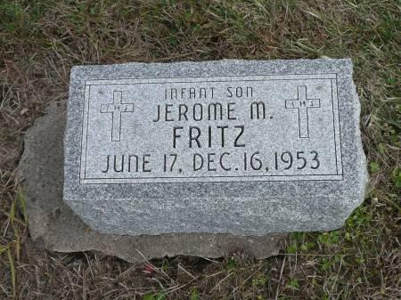 FRITZ, JEROME M - Jefferson County, Iowa | JEROME M FRITZ