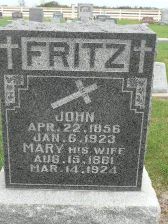 FRITZ, JOHN - Jefferson County, Iowa | JOHN FRITZ