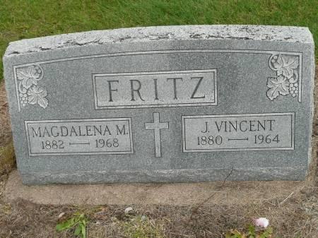 FRITZ, J VINCENT - Jefferson County, Iowa | J VINCENT FRITZ