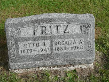 FRITZ, OTTO J - Jefferson County, Iowa | OTTO J FRITZ