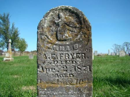 FRYER, ANNA B - Jefferson County, Iowa | ANNA B FRYER