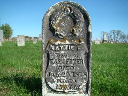 FRYER, MATTIE F - Jefferson County, Iowa | MATTIE F FRYER