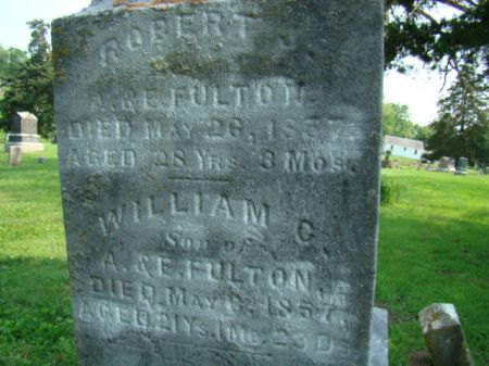 FULTON, ROBERT J - Jefferson County, Iowa   ROBERT J FULTON