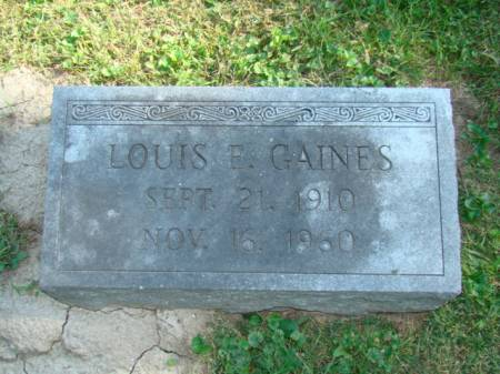 GAINES, LOUIS E - Jefferson County, Iowa | LOUIS E GAINES