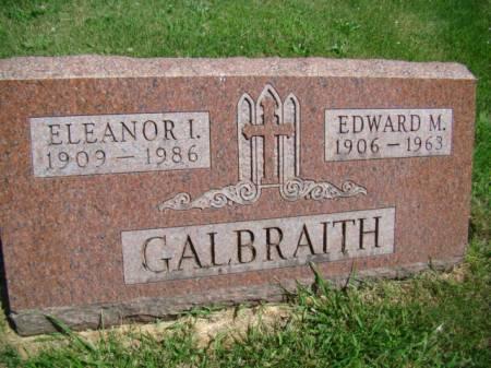 PALMBERG GALBRAITH, ELEANOR I - Jefferson County, Iowa | ELEANOR I PALMBERG GALBRAITH