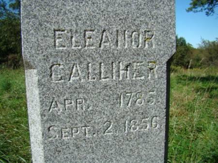 BLACKBURN GALLIHER, ELEANOR - Jefferson County, Iowa | ELEANOR BLACKBURN GALLIHER