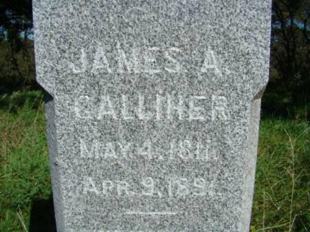 GALLIHER, JAMES A - Jefferson County, Iowa | JAMES A GALLIHER