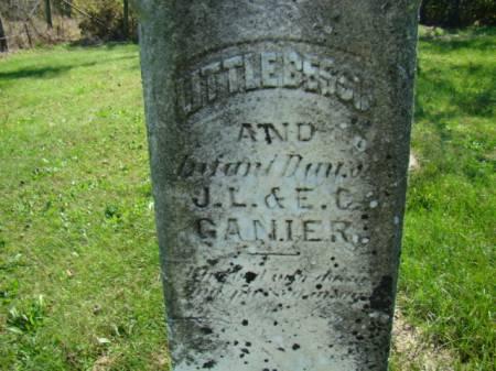 GANIER, BESSIE - Jefferson County, Iowa | BESSIE GANIER