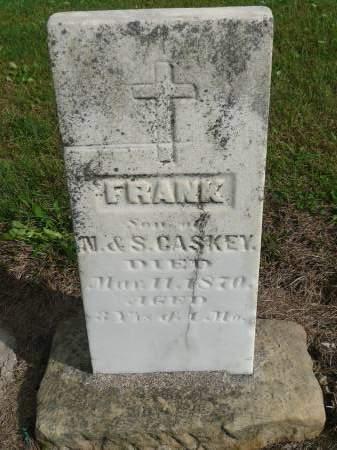 GASKEY (KASKA), FRANK - Jefferson County, Iowa | FRANK GASKEY (KASKA)