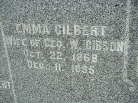 GIBSON, EMMA - Jefferson County, Iowa | EMMA GIBSON
