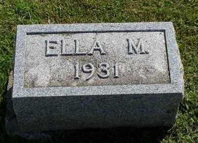 ALLEN, ELLA M. - Jefferson County, Iowa   ELLA M. ALLEN