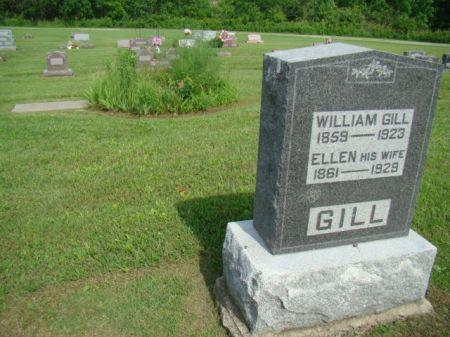HOSKINS GILL, ELLEN - Jefferson County, Iowa | ELLEN HOSKINS GILL