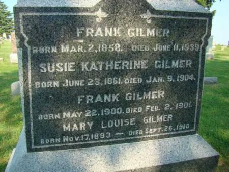 GILMER, FRANK - Jefferson County, Iowa | FRANK GILMER