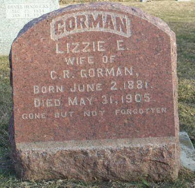 GORMAN, LIZZIE - Jefferson County, Iowa | LIZZIE GORMAN