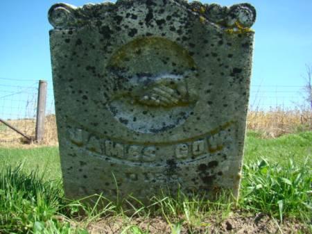 GOW, JAMES - Jefferson County, Iowa   JAMES GOW