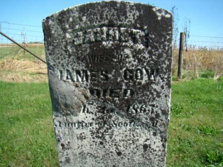 GOW, JANNET - Jefferson County, Iowa   JANNET GOW